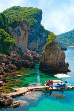 STYLEeGRACE ❤'s La Grotta Cove on Corfu Island, Greece!