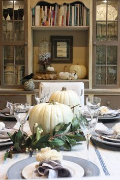 Beautiful fall home tour from My Sweet Savannah
