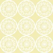 York Wallcoverings DwellStudio Baby & Kids Zinnia Yellows /White/Off for sale online Kids Room Wallpaper, Brand Collection, Blue And White, Yellow, Zinnias, Paper Design, Baby Kids, Home Improvement, York