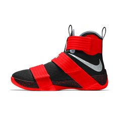 Nike Zoom LeBron Soldier 10 iD Men's Basketball Shoe Basketball Shorts Girls, Basketball Tricks, Jordan Basketball Shoes, Adidas Basketball Shoes, Adidas Shoes, Shoes Sneakers, Basketball Room, Basketball Uniforms, Basketball Court