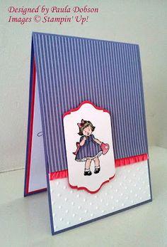 Stampinantics: LOOK WHOS greeting card kids birthday; Valentine Day Cards, Valentines, Stamping Up Cards, Birthday Greeting Cards, Creative Cards, Kids Cards, Cute Cards, Homemade Cards, Cardmaking