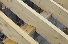 Plans to Build a shed on a weekend - Birdsmouth joints cut into rafters Build a Shed on a Weekend - Our plans include complete step-by-step details. If you are a first time builder trying to figure out how to build a shed, you are in the right place! Roof Joist, Roof Trusses, Framing Construction, Shed Construction, Shed Building Plans, Diy Shed Plans, Building Ideas, Wood Shed Plans, Lean To Shed