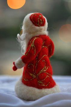 Naald vilten Santa. Waldorf. Voor aangepaste bestellingen