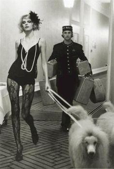 Margarita, Brehan and White Poodles, Hotel Atlantic — Esther Haase, 2005