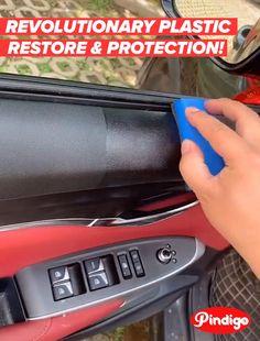 Car Cleaning Hacks, Car Hacks, House Cleaning Tips, Cool Gadgets To Buy, Car Gadgets, Plastic Restorer, Kombi Home, Leather Repair, Diy Home Repair