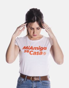 Amiga archivos - MiAmigoSeCasa Bridal, Long Dresses, T Shirt, Tops, Women, Fashion, Home, Vinyl Lettering, White Cotton