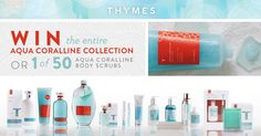 http://woobox.com/o3yahc/f4jajk  I just entered to win the Thymes Aqua Coralline collection!