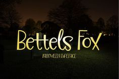 Bettels Fox is a display font inspired by vintage typography that usually shown on poster, book and CD cover. Has a firm character, but still looks like a natural handwriting. You can use it for your next handcrafted projects: poster, flyer, banner, illustration, cover, etc. Bettels Fox It is suitable for you if you want to create works design themed of Halloween, ghosts and horror. #ad.