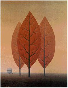 The Princes of Autumn, 1963, Rene Magritte