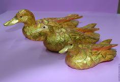 Купить Уточки - утки, уточки, фен-шуй, подарок на любой случай, сувениры из дерева