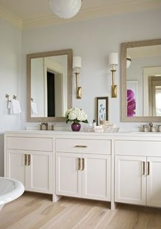Master bath - airy and spacious