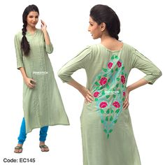 Summer Wear Kurti And Tight For Young Girls By Pinkstich Vol-3 From 2014-15