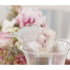 Ginger Ray Bird Place Card for Glass