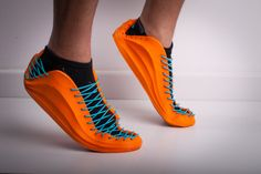 #printing3D Recreus Sneaker with FILAFLEX Elastic filament 3mm by Recreus - Thingiverse