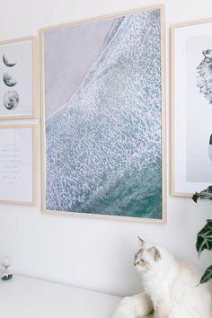 Kunstdruck - Waves