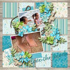 Love the Beach - Scrapbook.com