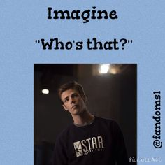 Barry Imagine his facial expression was perfect for this