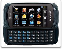 Samsung Impression a877 Phone, Blue (AT