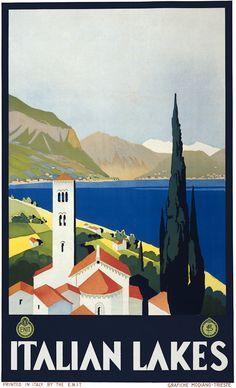Italian Lakes, c. 1930