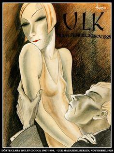 Dörte Clara Wolff (Dodo), 1907-1998,  - Ulk magazine, Berlin, Novembre, 1928