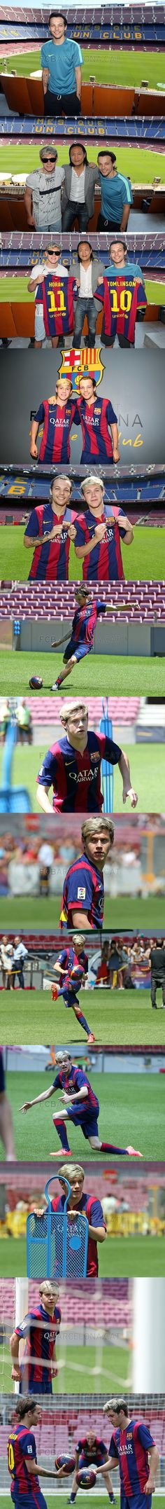 One Direction (Messi and Neymar's numbers i'm gonna cry)