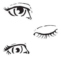 Eye Stencil, Face Stencils, Mixed Media Faces, Mixed Media Art, Mix Media, Doodle Drawing, Drawing Tips, Art Journal Pages, Art Journaling