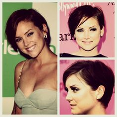 I seriously just love Jessica Stroup's hair! & her of course