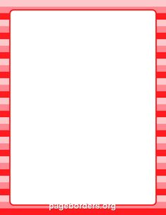 Printable Valentine Striped Border. Use The Border In Microsoft Word Or  Other Programs For Creating  Free Border For Word