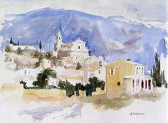 Bedoin et le Mont Ventoux