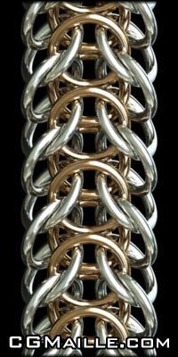 Here's something for the hardcore people who don't like wearing or making fancy jewelry- how about making use of some jump rings to make chainmaille bracelets, shirts, etc? ;)  This is one of my favorite chainmailing tutorial sites!