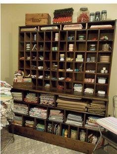repurposed - postal sorter - crafter