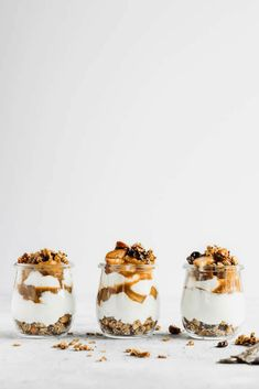 Maple Pear Parfait with Cardamom Skillet Granola