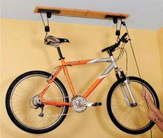 крепления велосипеда под потолок