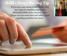 For more home buying tips, visit: http://hollimccray.com/buying-a-home  Keller Williams Realty | 865-694-5904 | Each Office is Independently Owned & Operated #KnoxvilleRealEstate