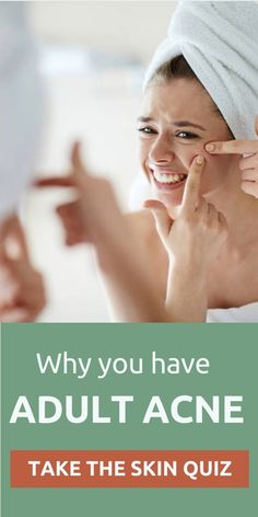 Why do you have adult acne? Take our skin quiz to get a personalized skin care regimen for your skin. beauty products must have skin care Beauty Care, Beauty Skin, Health And Beauty, Beauty Tips, Natural Health Remedies, Natural Cures, Natural Skin, Herbal Remedies, Skin Care Regimen