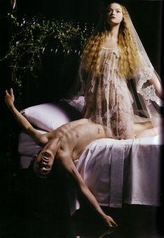 Gemma Ward in Vogue Italia September 2005 by Mario Sorrenti