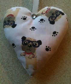 Pug Fabric Lavender Bag / Pug Dog Christmas Gift -Handmade in Home, Furniture & DIY, Celebrations & Occasions, Other Celebrations & Occasions | eBay