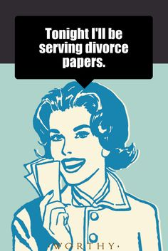 Hope you're not too hungry...#divorcehumor