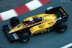 JP Logistics Car Transport -  Got one?  Ship it with http://LGMSports.com Manfred Winkelhock, ATS D6, 1983 Monaco GP
