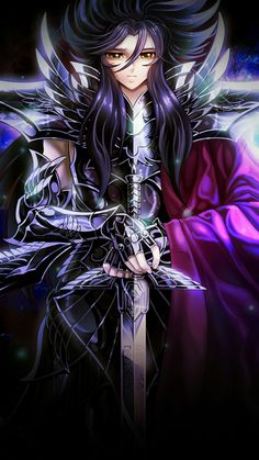Saint Seiya Lost Canvas, Golden Warriors, Hades And Persephone, King Of Fighters, Ragnar, Underworld, Aphrodite, Kawaii Anime, Chibi