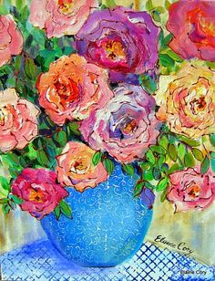Elaine Cory ~ beautiful florals