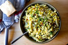 corn bacon and parmesan pasta | smittenkitchen.com