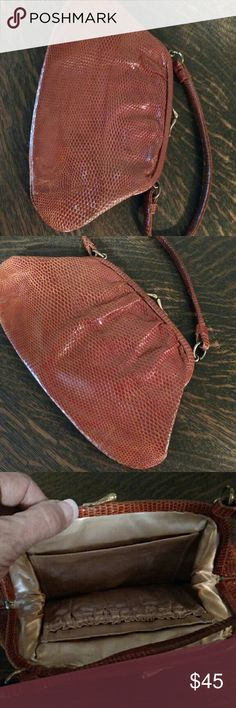Lovely vintage lizard purse Vintage lizard purse in excellent condition no holes no rips Bags Mini Bags