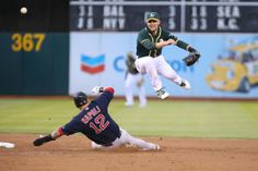 Oakland Athletics Jed Lowrie, Boston Red Sox Mike Napoli