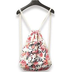 Bailey Printed Drawstring Bag (FREESHIP)  The chic way to tote your essentials. Travelling in style is easy with this gorgeous piece. Durable, with a drawstring closure.  Material: Cotton  *kindly check our sizing guide below for a fabulous fit.  $ 24