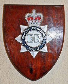 Cheshire Police Constabulary Wall Plaque UK Made for MOD