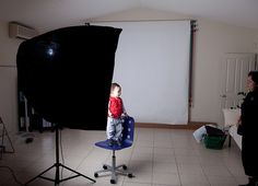 """Having just finished building the Death Star my DIY 50"""" collapsible soft box I was itching to give it a test. The opportunity arrived when the family came round for dinner. I did a very simple setup of a white seamless background and a single light i consider diy projects"""