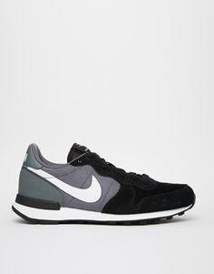 Aumentar Zapatillas de deporte negras Internationalist de Nike