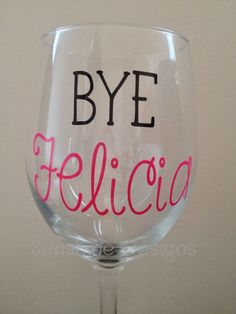 Th Birthday Wine Glass Cheers To Years Wine Glass Custom - Custom vinyl decals for wine glasses
