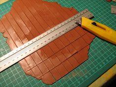 Schindeln für das Dach, Tutoriales Mundomini: Tejas
